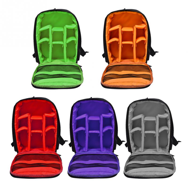 Waterproof Wear-resistant Shockproof DSLR Camera Padded Bag Backpack