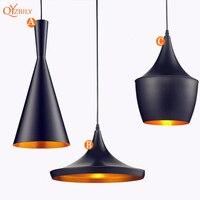 Modern Pendant Lights Nordic Aluminium E27 Edison Bulb Led Pendant Lamp For Home Lighting Living Room