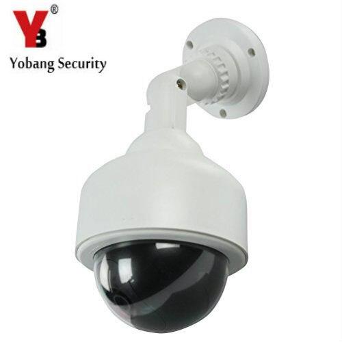 bilder für YobangSecurity Top Qualität Outdoor Wireless IR Überwachungs Dummy Gefälschte CCTV Überwachungskamera LED Blinkt Indoor/Outdoor
