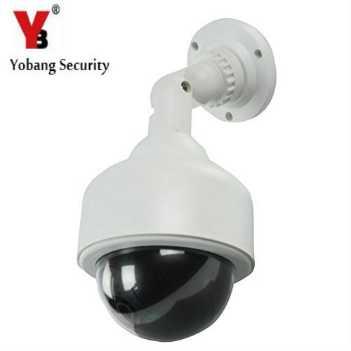 YobangSecurity Top Quality Outdoor Wireless IR Surveillance Dummy Fake CCTV Security Camera LED Flashing Indoor/Outdoor yobangsecurity solar power led wireless ir surveillance dummy fake cctv security camera led flashing indoor outdoor