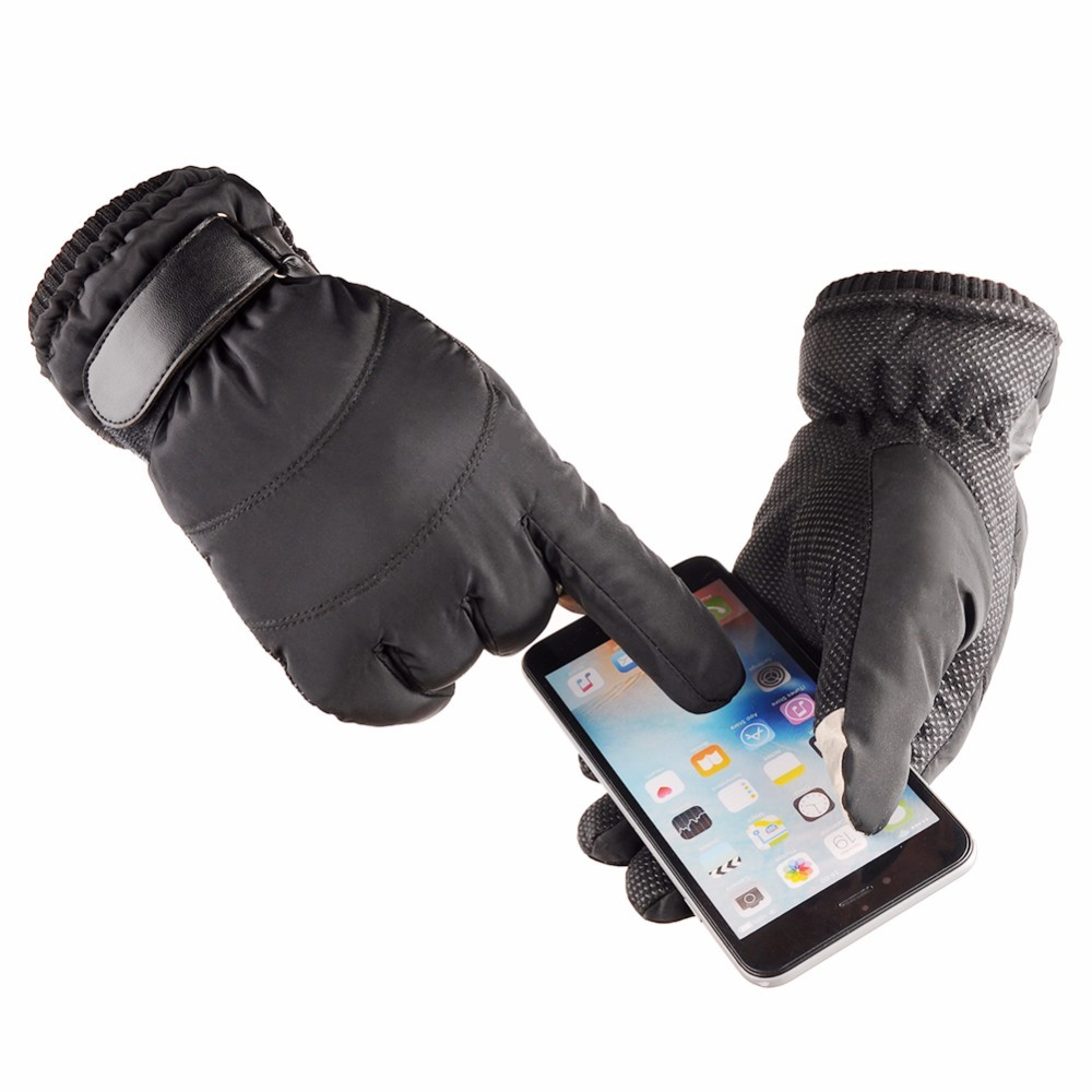 Waterproof Ski Gloves Men Women Warm Skiing Snowboard Gloves Snowmobile Motorcycle Riding Winter Outdoor Cycling Gloves