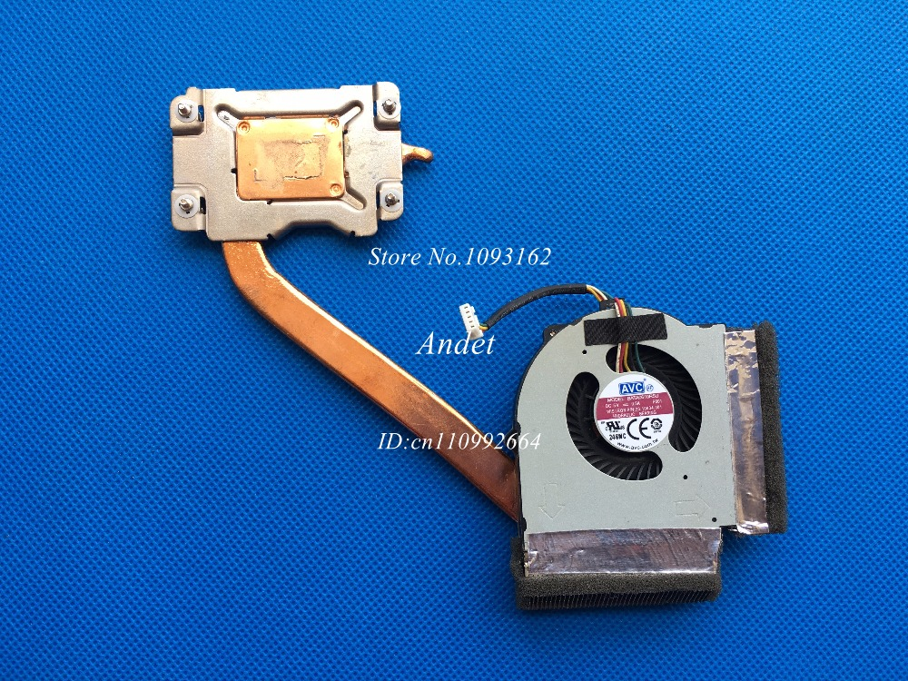 95% New Original Lenovo ThinkPad L430 L530 Heatsink CPU Cooler System Cooling Fan for UMA Integrated Graphics 04W3747 04W6891