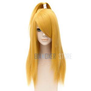 Image 5 - Naruto Akactuki Peluca de pelo Cosplay para hombre, peluca larga, peluca doradas para disfraz