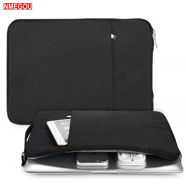 Portable Handle Waterproof Laptop Sleeve Bag for Macbook Air Pro 11 13 15 Inch Notebook Case for Mac Book Lap Top Accessories