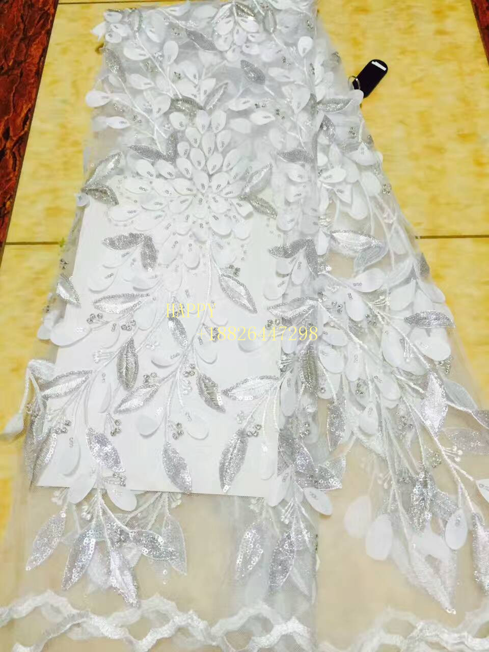 Apparel & Merchandise The Best 3d Lace Fabric 2018 High Quality Lace African Lace Fabric Net French Tulle Lace Fabric Lr043 Free Ship By Dhl