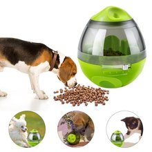 Yooap Dog Food Container, Dispensing Interactive Fun Toy IQ Mental Treat Ball Eating Sport Feeder Tumbler Design for Dogs Cats