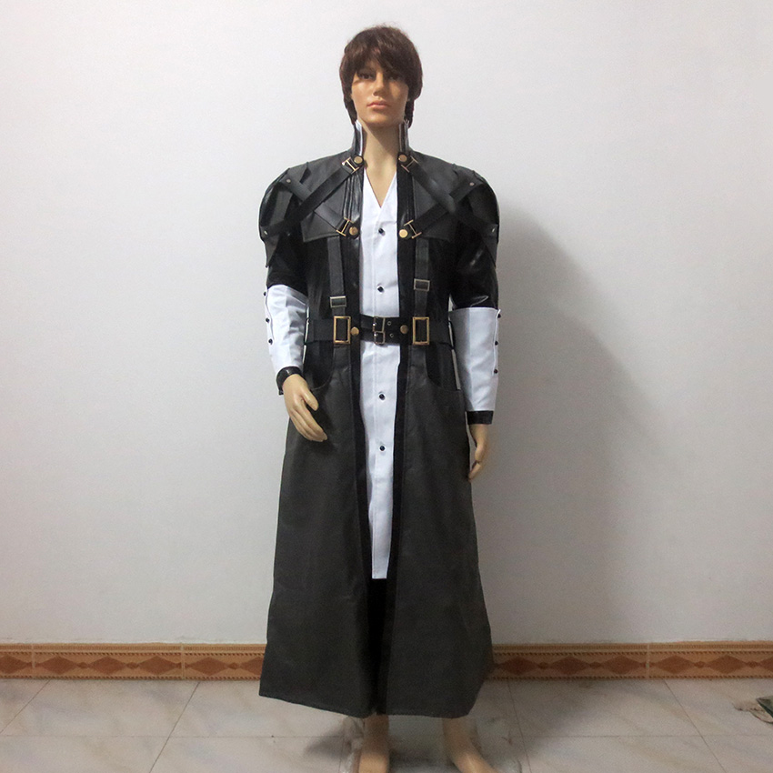 Kingdom Hearts Xehanort Christmas Party Halloween Uniform Outfit Cosplay Costume Customize Any Size