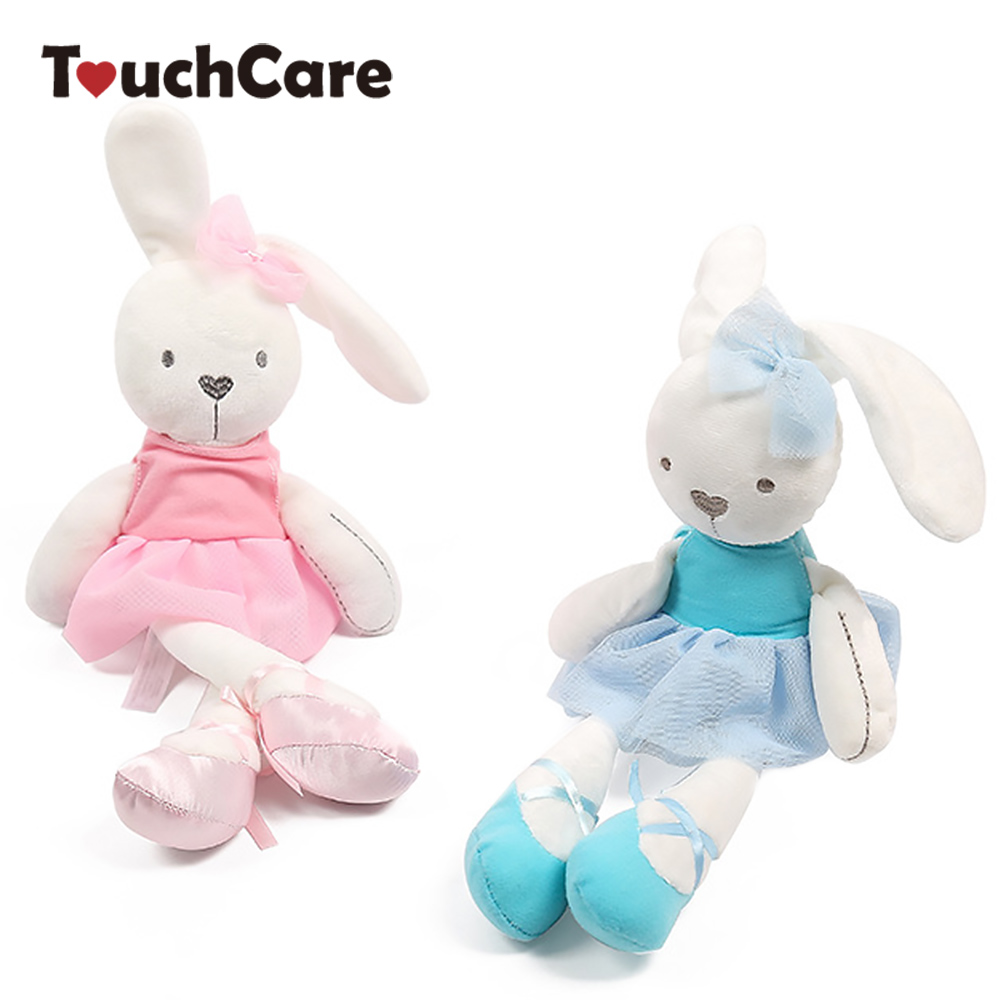 35*8cm Cute Bunny Baby Soft Plush Toys Stuffed Animals Kids Baby Toys Smooth Obedient Sleeping Rabbit Doll Infant Appease Doll plush ocean creatures plush penguin doll cute stuffed sea simulative toys for soft baby kids birthdays gifts 32cm