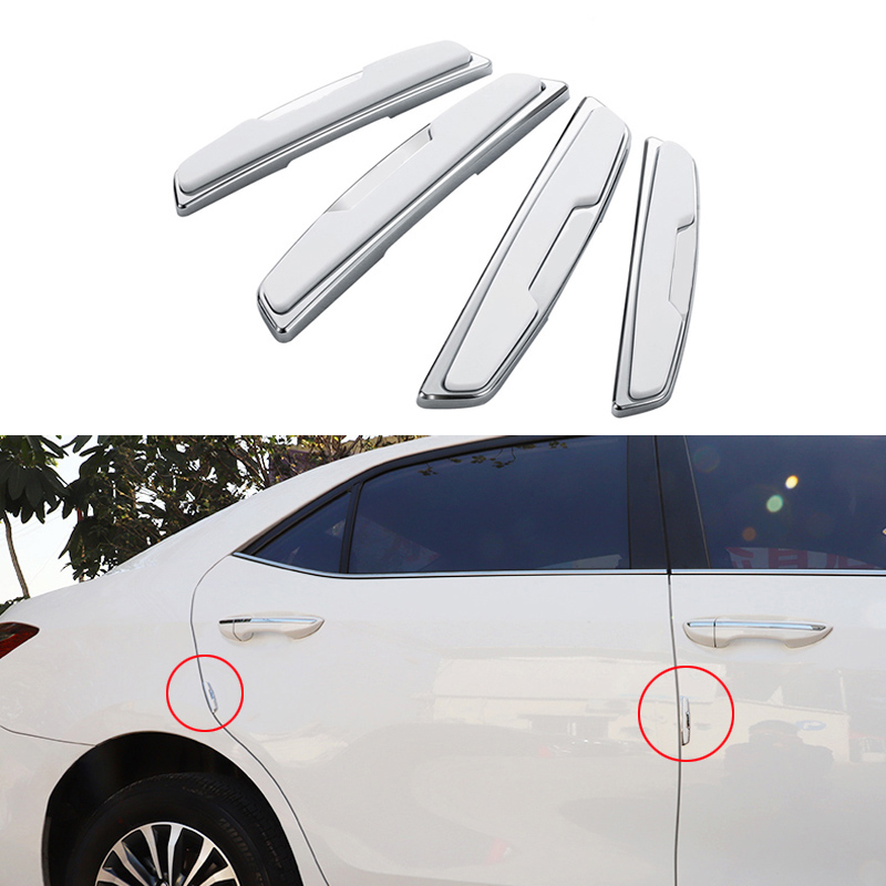 Car Door Side Protector Bumper Strips Decal For BMW F10 F30 E60 Ford Focus <font><b>2</b></font> 3 Fiesta Polo Passat B6 KIA Rio Ceed <font><b>Mazda</b></font> 3 6 Cx-5 image