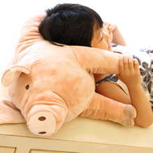 40-60cm Simulation Lovely Stuffed Pig Toy Soft Animal Pig Doll Cute Cartoon Pig Pillow Kids Toy Creative Birthday Gift for Girl