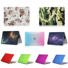 laptop case  for Apple MacBook Air 13 13.3 inch Crystal/Matte/Rainbow/Printing Case Cover Model A1369 A1466