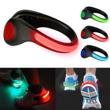 LED Shoes Clip Lights Sports Running Safety USB LED Shoes Clip Luminous Light Reflective No-slip Clip For Night Running Safety