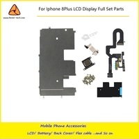 10PCS LOT LCD Assembly Digitizer Full Set Small Parts Front Camera Ear Speaker Flex Without Home