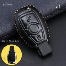 car accessories key cover case araba aksesuar for Mercedes Benz B200 C180 E260L S320 GLK300 CLA CLS S400 Car Styling шильдик nfs glk300 s400l glk300
