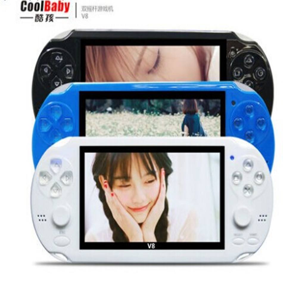 Handheld Game Players 8gb Double Rocker 4.3