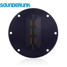 Sounderlink transductor plano de 4 pulgadas, altavoz de audio, Unidad de controlador de agudos, altavoz de agudos con cinta, altavoz AMT de 8Ohm y 30W