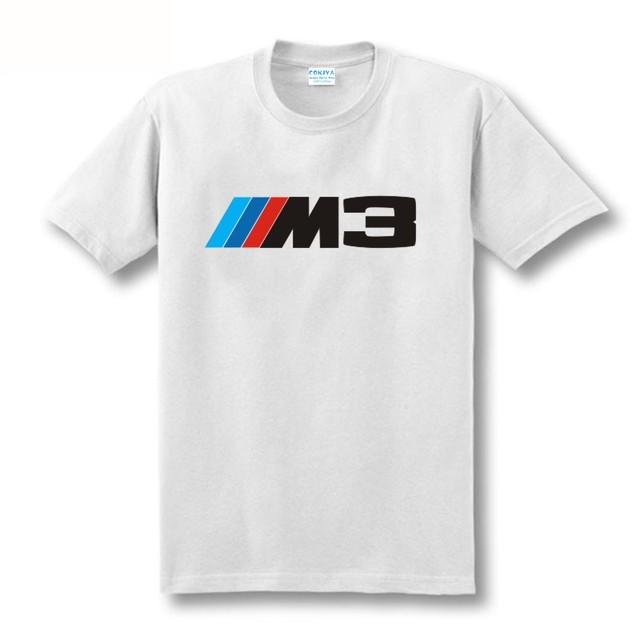 BMW M Series Logo Cotton T-Swhirt