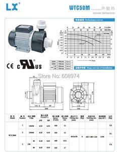 Image 5 - 中国 lx WTC50M 循環ポンプ 250 ワット 0.35HP ため WTC50 サンダンス、 winer 氏スパ