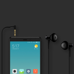 Image 4 - Xiaomi Mi Earphones Dual Units Half 3.5MM Wire Control In Ear Earphones for Mi A1 Redmi 5 Plus Smartphone for samsung s10