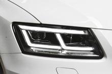 عرض الفيديو ، الوفير ضوء ل 2 قطعة LED المصابيح الأمامية Q5 2009 2010 2011 2012 2013 2014 2015 2016 2017 2018 Q5 الضوء الخلفي