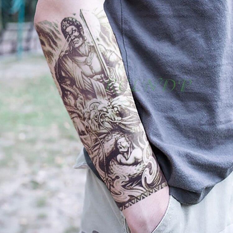 Waterproof Temporary Tattoo Sticker Fake Tatto Flash Tatoo Back Abdomen big size body art for Girl Women Men