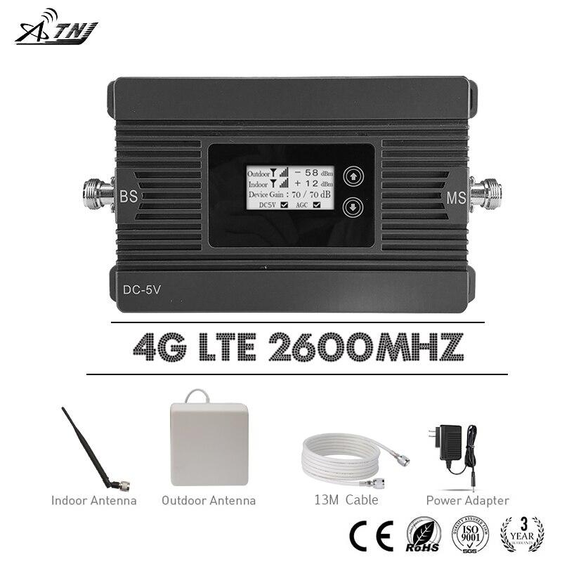 MagoFon Beeline 4G Répéteur LTE 2600 B7 Mobile Signal Booster 4G LTE 2600 mhz 80dB Gain téléphone portable Cellulaire booster 4G Antenne