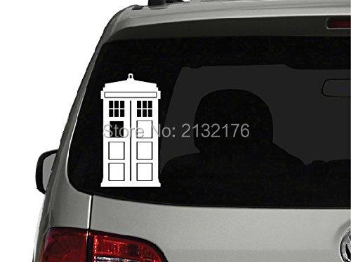Doctor Who Tardis Die Cut Vinyl Decal Sticker For Car Window - Die cut vinyl decal stickers