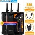 DOOGEE S80 мобильный телефон IP68/IP69K Рация Беспроводная зарядка NFC 10080 мАч 12V2A 5,99 FHD Helio P23 Восьмиядерный 6 ГБ 64 Гб 16.0MP