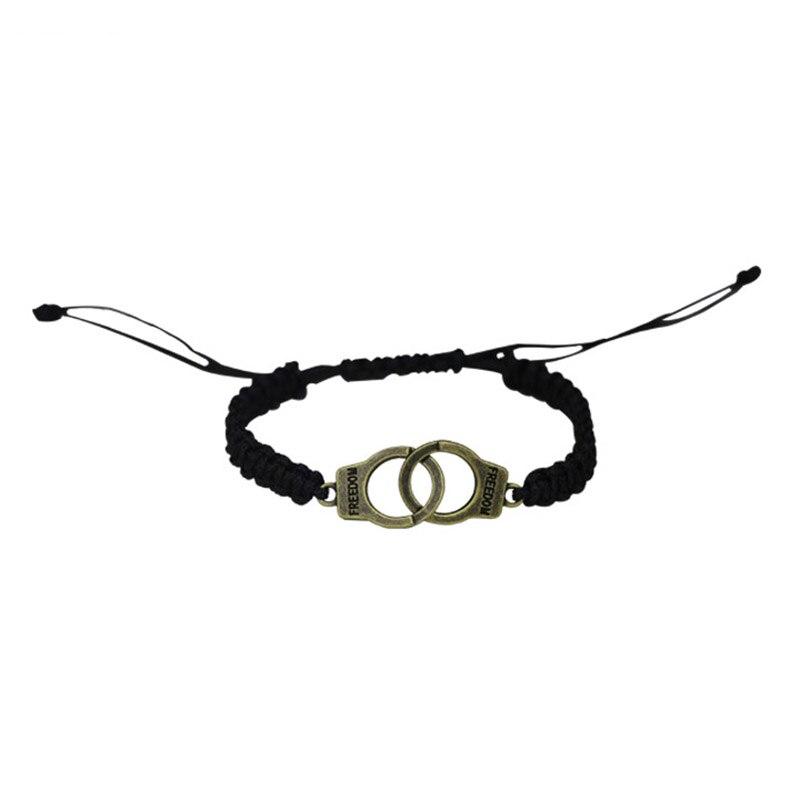 Adjustable Vintage Handmade Bracelet Men Jewelry Handcuffs Charm Bracelet for Women Accessories Friendship Girl Couple Bracelets 1
