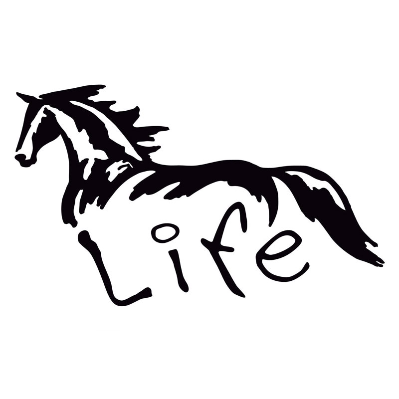 Online Get Cheap Horse Decals For Cars Aliexpresscom Alibaba Group - Horse decals for trucks