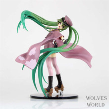 20cm Anime Hatsune Miku Senbonzakura Vocaloid Cartoon Animation Action Figure PVC Model Toy Doll Gift(China)