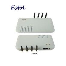 Original DBL GoIP 4 ports gsm voip gateway/Voip sip gateway/GoIP4 ip gsm gateway unterstützung SIP/h.323/IMEI veränderbar