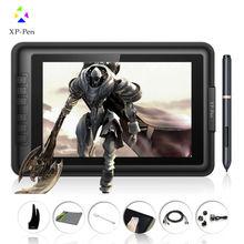 """XP-Stift Artist10S IPS 10,1 """"Zeichnung Pen Display Graphics Zeichnung Monitor mit Stift und Zeichnung handschuh (Schwarz)"""