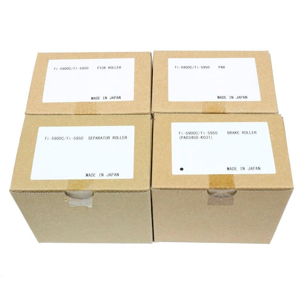 NEW PA03450-K011 PA03450-K012 PA03450-K013 PA03450-K014 for Fujitsu FI-5900C Scanner Roller Kit