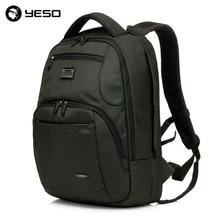 Business Travel Laptop Men Backpack 14 15.6 inch Multifuntion Bag College School Bags Waterproof Oxford Notebook Backpacks YESO