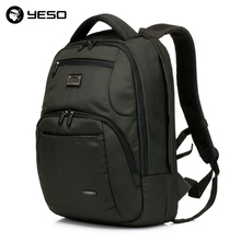 Business Travel Laptop Men Backpack 14 15.6 inch Multifuntion Bag College School Bags Waterproof Oxford Notebook Backpacks YESO