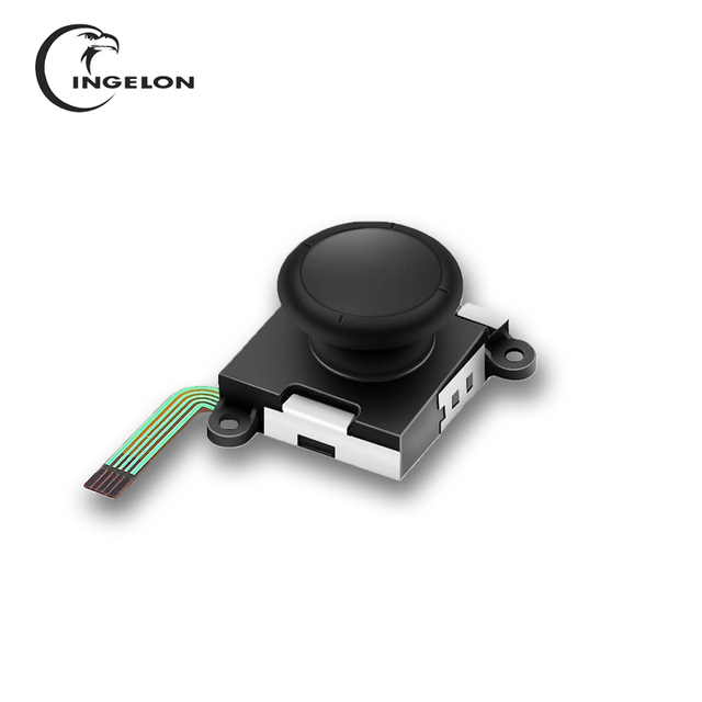 3d analógico joycon joystick polegar varas para alegria con interruptor controlador sensor módulo ferramenta de reparo nintend interruptor alegria con joycon