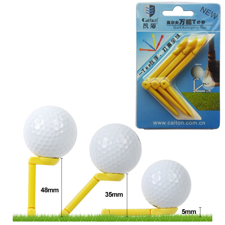 Club de Golf tees Tee ángulo Ajustable altura ajustable robusto y durable univer