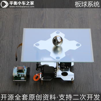 Cricket Control System Ball Rolling System Electronic Design Ball-Plate Balance Ball PID