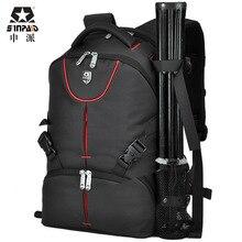 High Quality Luxury Waterproof Canvas Professional Slr Backpack Camera Bag camera backpack bag CD50