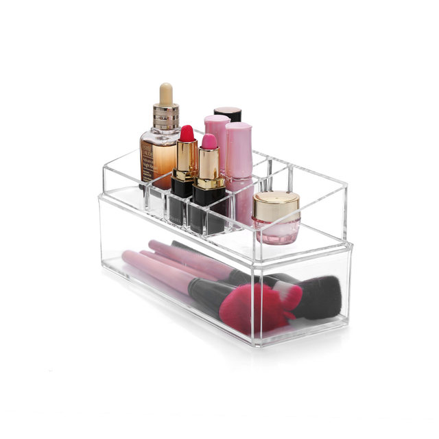 Online Shop Clear Acrylic Cosmetic Makeup Organizer Lipstick Holder