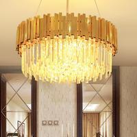 Living room chandelier post modern minimalist atmosphere restaurant light designer model room lighting villa luxury crystal led