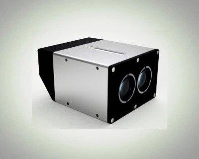 FREE SHIPPING 100m outdoor laser rangefinder radar distance module sensor height measurement speed vehicle positioning scanning