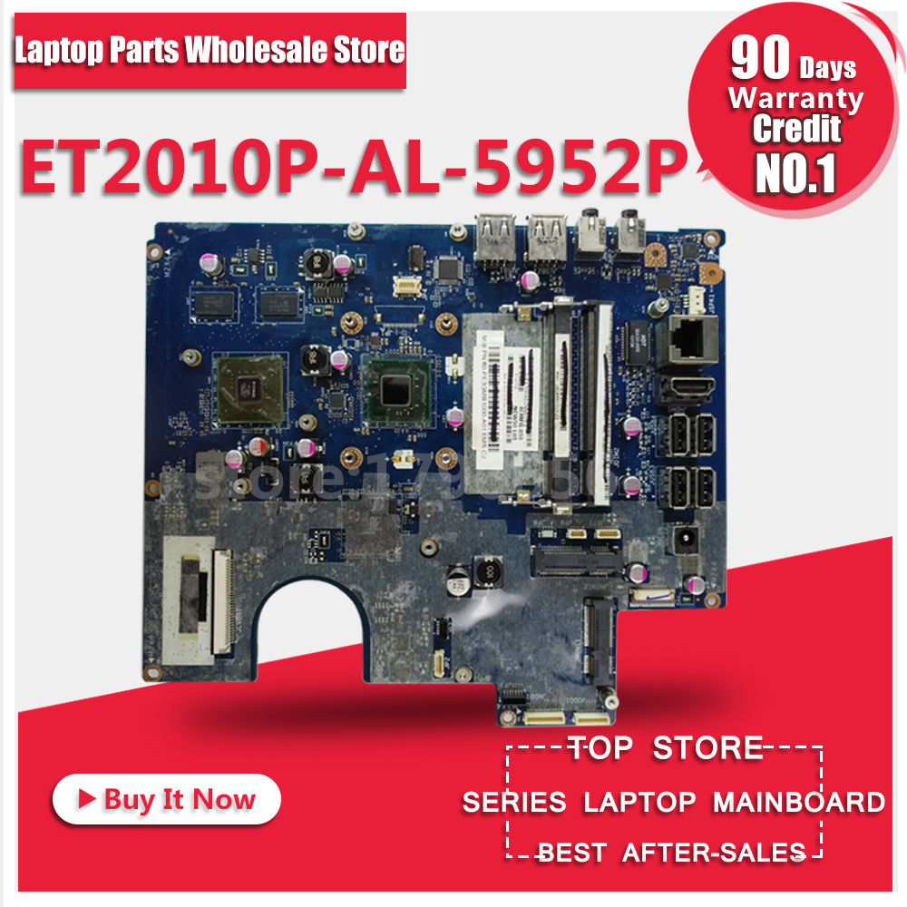 Laptop motherboard For ASUS ET2010P AL-5952P System Board Main Board Mainboard Card Logic board 100% Tested Free Shipping for asus x102ba 2g a4 1200 laptop motherboard system board main board mainboard card logic board tested well free shipping