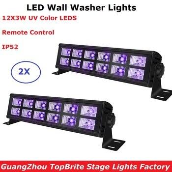 12 LED דיסקו UV סגול שחור אורות DJ 25W Par מנורת UV שלב אורות עבור מסיבת חג המולד לייזר מקרן LED מכונת כביסה קיר אורות