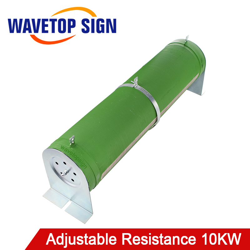High-power tube type wire wound resistors Adjustable resistance 10kw 0.5O-10KO 500w ceramic tube resistors 75k ohm wire wound fixed tube resistance