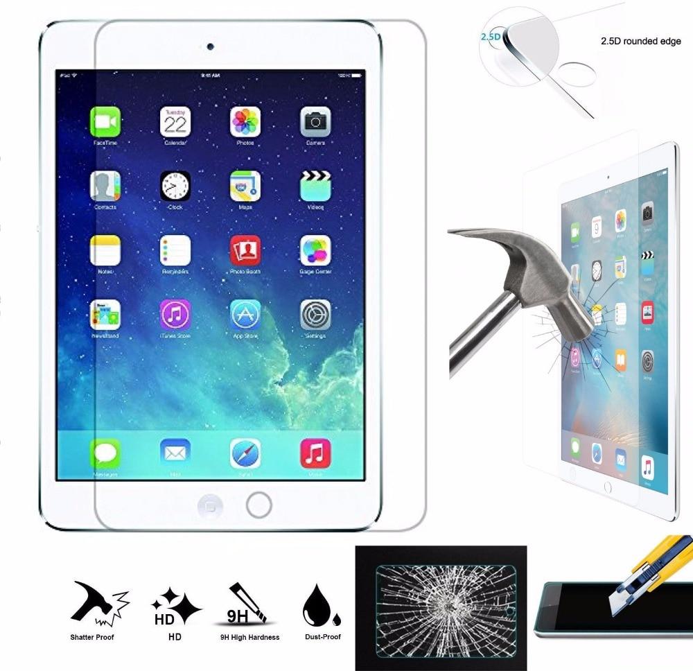 Kaljeno steklo za zaščito zaslona za iPad Air 1 2, 9H - Dodatki za tablične računalnike - Fotografija 1