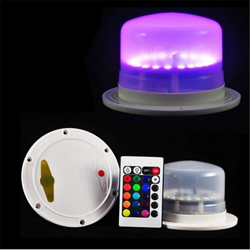 Водонепроницаемые светодиодные декоративные настольные лампы для свадебной вечеринки, украшения под столом, светодиодные мебельные светильники с перезаряжаемой батареей