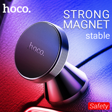 hoco magnetic car holder dashboard phone mount air vent cell magnet stand for iphone samsung xiaomi central console