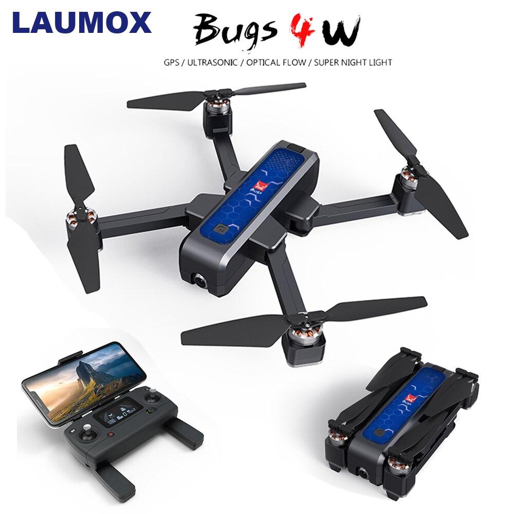 MJX 4 Bugs W B4W 5G GPS Zangão Brushless Dobrável com 2K HD Camera WIFI FPV Anti- agitar 1.6KM 25 Minuto De Fluxo Óptico RC Quadcopter